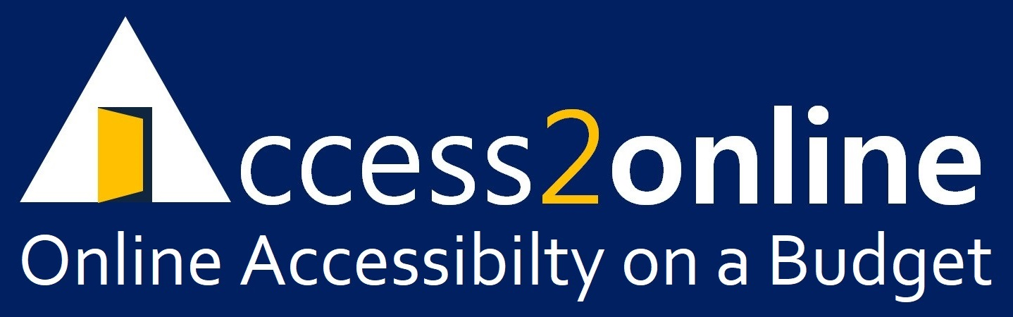 Access2online - Web Accessibility On A Budget
